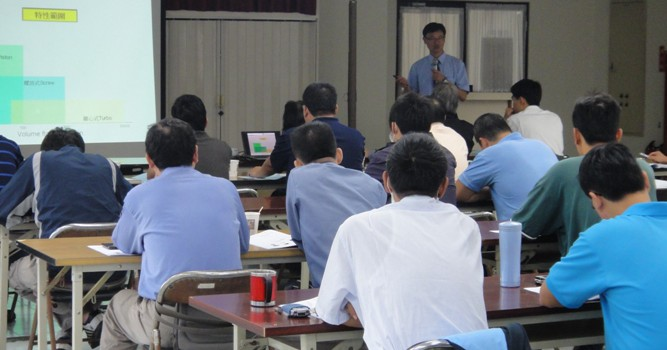A seminar held in Kaohsiung Export Processing Zone
